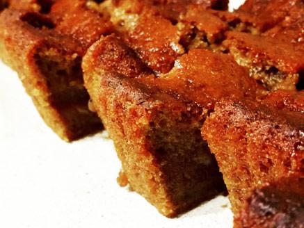 עוגת בננה טבעונית מתובלת