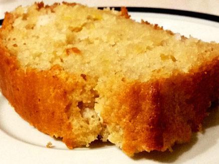 עוגת תפוזים טבעונית בניחוח קוקוס