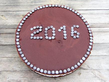 עוגת נוגט, חמאת בוטנים ושוקולד טבעונית