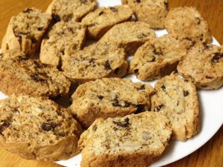 עוגיות אגוזים ושקדים יבשות ללא גלוטן