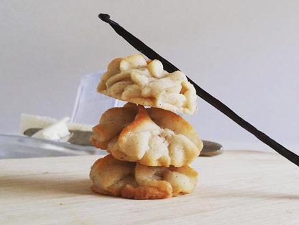 עוגיות חמאה ווניל ממכרות