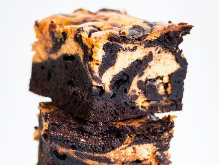בראוניז שוקולד-דלעת