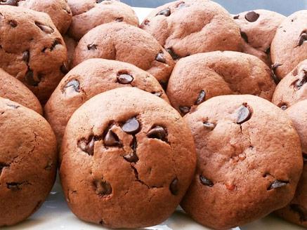 עוגיות נוטלה בניחוח תפוז