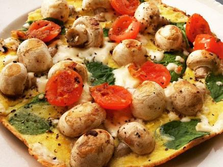 חביתת פיצה קלה וטעימה