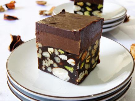 מרקיז שוקולד ונוגט