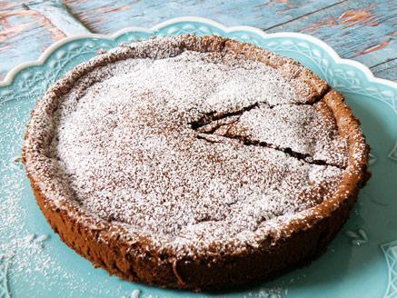 עוגת נוטלה משני מרכיבים בלבד