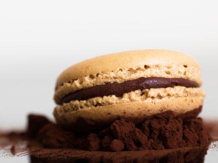 מקרון אספרסו שוקולד
