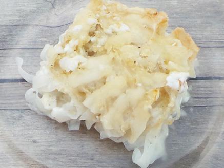 פשטידת אטריות טבעונית כשרה לפסח