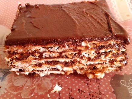 עוגת מצות שוקולד