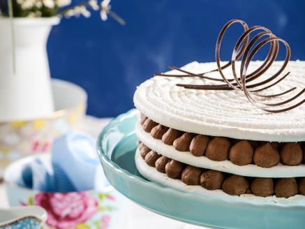 עוגת מרנג ושוקולד