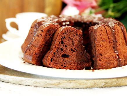 עוגת שוקולד ושקדים ללא גלוטן וכשרה לפסח
