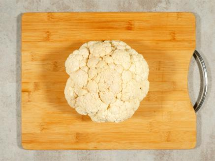 כרובית מטוגנת בציפוי פירורי לחם ושומשום
