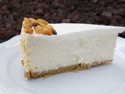 עוגת גבינה בסגנון ים תיכוני
