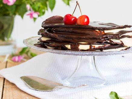 עוגת קרפ עם קרם פטיסייר-מסקרפונה
