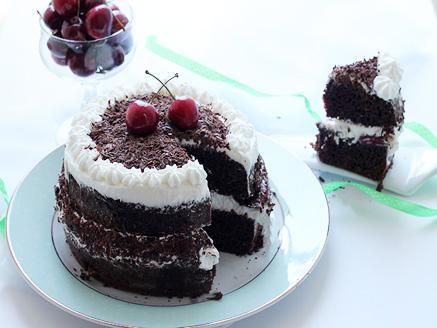 עוגת היער השחור קלה וטעימה