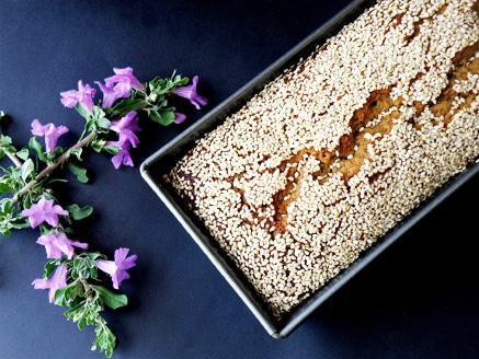 עוגת טחינה, סילאן ופצפוצי שוקולד