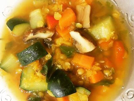 מרק ירקות דיאטטי