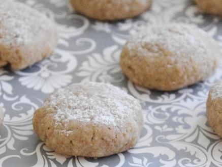 עוגיות אגוזים לטבעוניים