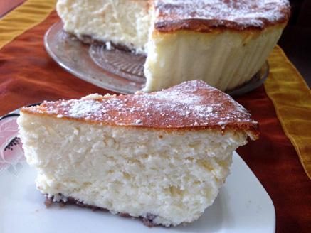 עוגת גבינה אפויה מושלמת