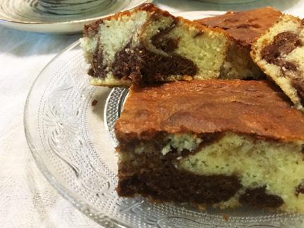 עוגת שיש שוקולד תפוז