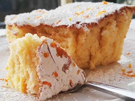 עוגת תפוזים אוורירית קלה להכנה