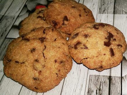 עוגיות שוקולד צ`יפס לפסח