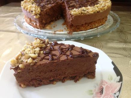 עוגת מוס שוקולד לפסח