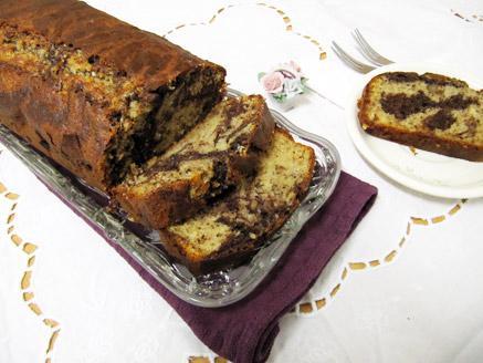 עוגת שיש, חלבה ואגוזים
