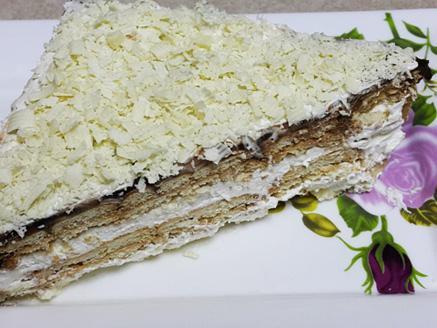 עוגת ביסקוויטים קלה ומהירה