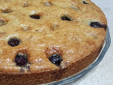 עוגת דובדבנים ללא גלוטן וללא תוספת סוכר
