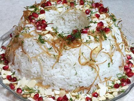 אורז עם קרם קוקוס