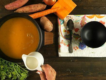 מרק כתום ביתי מושלם
