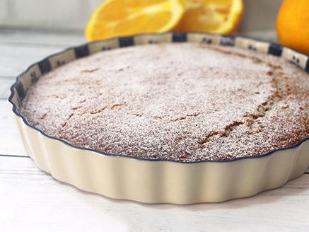 עוגת תפוזים טבעונית קלה להכנה