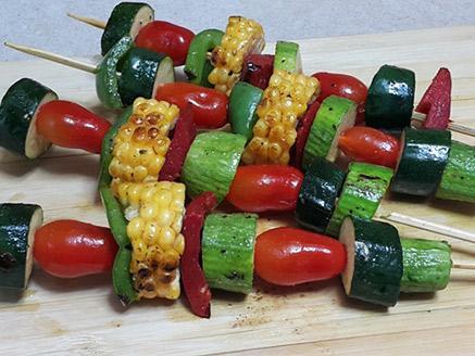 שיפודי ירקות לעל האש