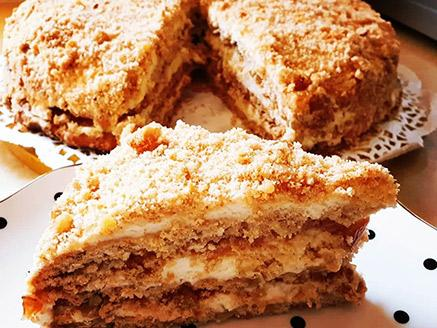 עוגת קרלבסקי - מלכת העוגות הגיאורגיות