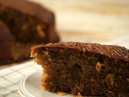 עוגת דבש קלה להכנה