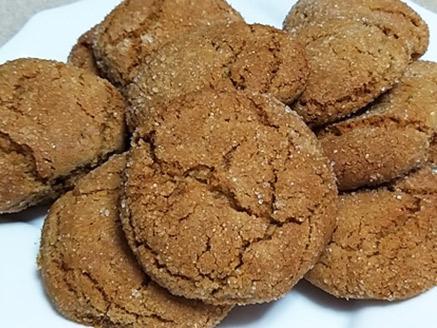 עוגיות ג`ינג`ר וקינמון