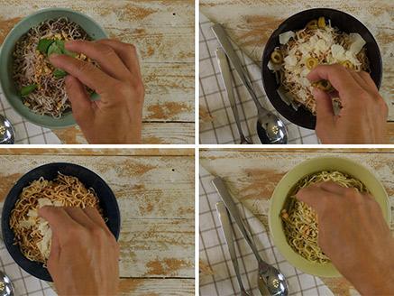 פתרונות מהירים עם סקיני פסטה