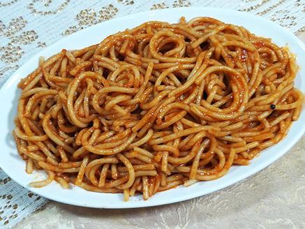 ספגטי ברוטב עגבניות לילדים
