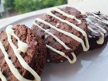 בראוניז שוקולד ביתי וטעים