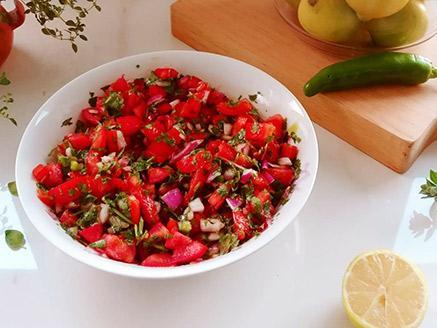 פיקו דה גאיו - סלסת עגבניות מקסיקנית