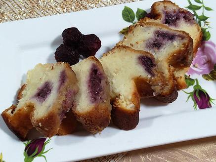 עוגת גבינה עם פטל