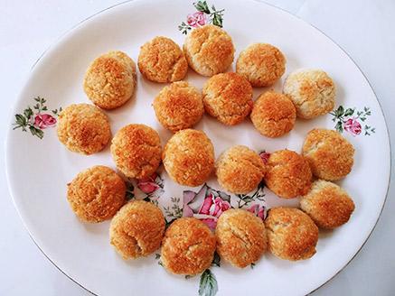 עוגיות קוקוס טבעוניות לפסח