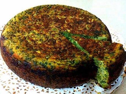 פשטידת ירק פרסית במחבת (קוקו סבזי)