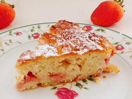 עוגת תות-גבינה טבעונית