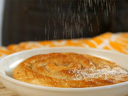 לאפות ולהגיש: מאפה יווני מבצק פילו - קרם בטעם וניל