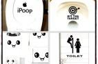 מדבקות עיצוב לשירותים ולבית