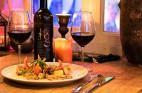 ארוחה זוגית במסעדת אבראג` ביפו העתיקה